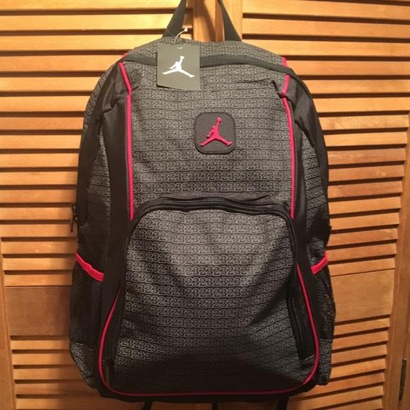 928074f885c7 Jordan Jumpman Black   Red Backpack